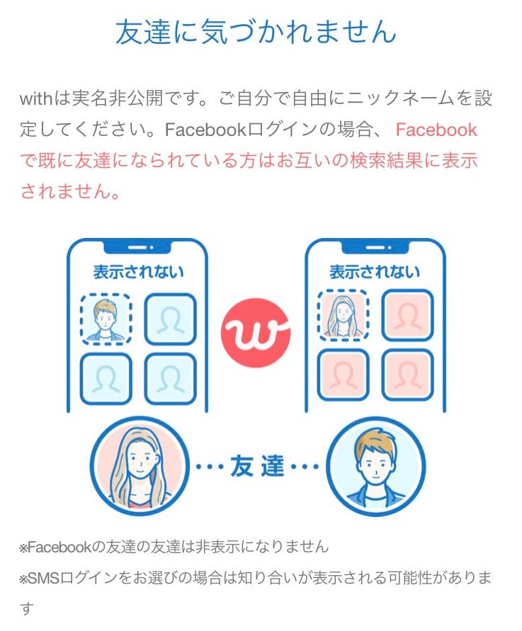 バレないマッチングアプリ−with