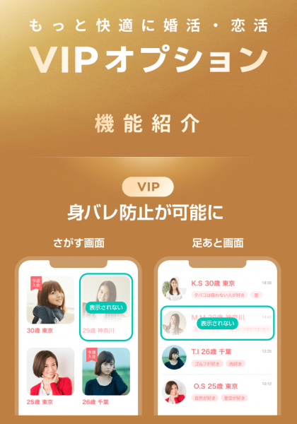 with VIPオプション