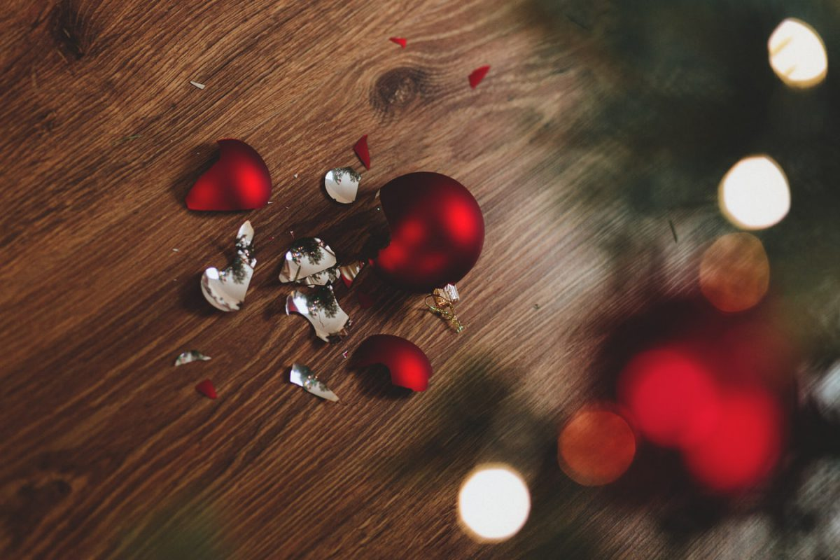 クリスマスのやつわれてる