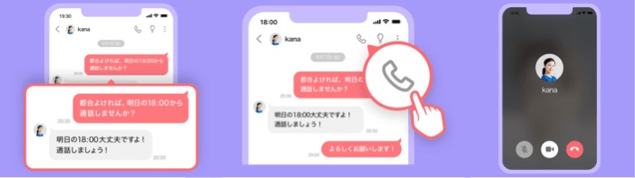 withの通話使い方