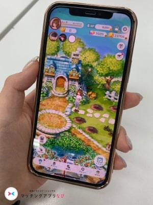 恋庭 マッチングアプリ  スマホ画面